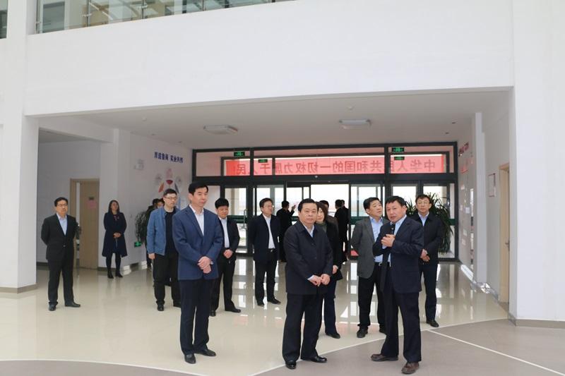 山东省经信委副主任王信到我集团调研工业运行情况