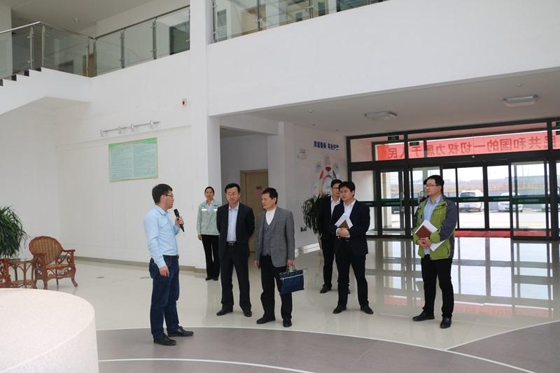 黄河三角洲可持续发展研究院管理中心副主任臧民杰到集团调研