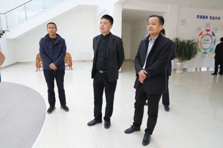 垦利区委常委、副区长宋晋民到集团调研