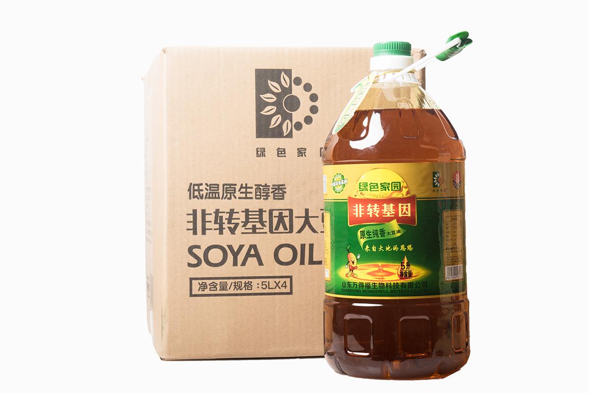 三级非转基因大豆油(5L)
